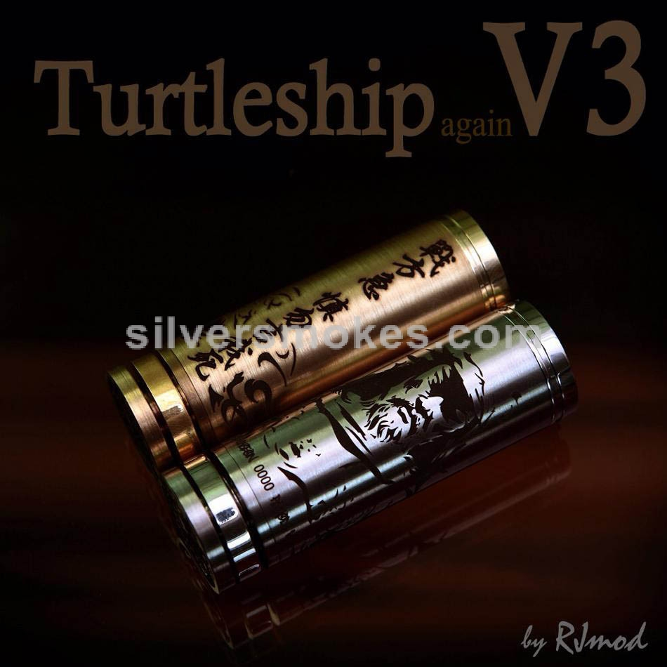 Turtleship Mechanical Mod by RJ Mods